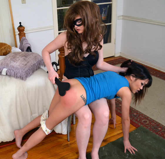 And for spanking me